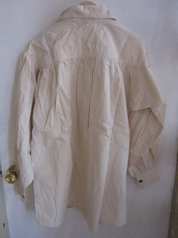 18th Century Work Shirt Men's Cotton Pullover Rendezvous Civil War Re-enactor Clothing ZCFJAaSKj