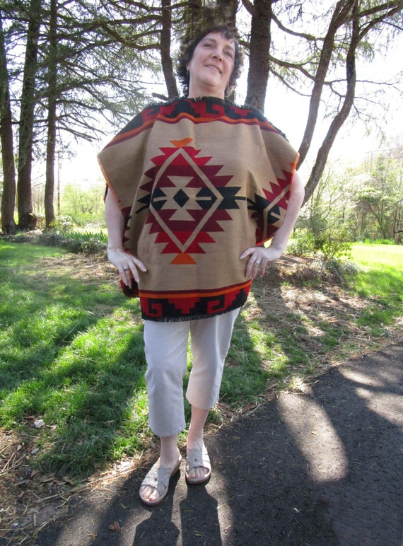 Daryl Dixon Poncho Costume in Woven Fabric Childs Size Petite Replica kbacqKDz