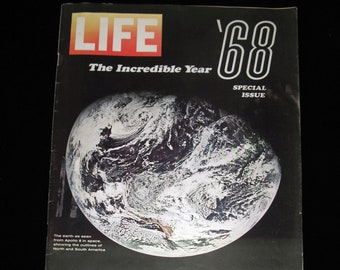 Life Magazine January 10, 1969: 'The Incredible Year 68