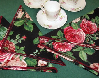 Tea Party 4 Napkin Set