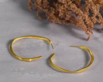 Hoop Earrings Sterling Silver
