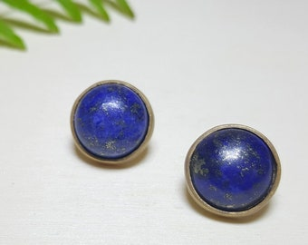 Gemstone Studs, Everyday Earring Studs, Gemstone Stud Earrings, Gemstone Earrings Post, Round Stud Earrings, Boho Studs, Elina Jewellery