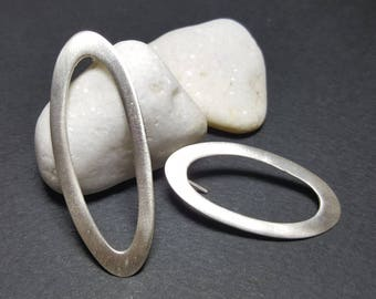 Mismatched Earrings Set, Silver Mismatched Earrings, Asymmetrical Earrings, Minimalist Earrings, Asymmetric Earrings, Statement Earrings
