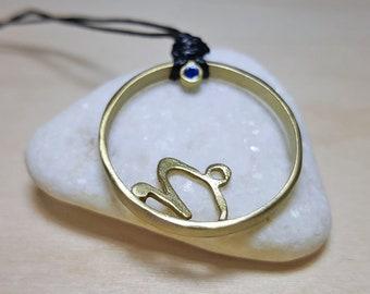 Capricorn Necklace, Capricorn Zodiac, Horoscope Jewelry, Horoscope Necklace, Silver Zodiac Necklace, Silver Zodiac Pendant, Capricorn Gift