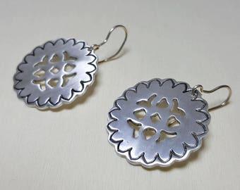 Dangle Earrings, Celtic Earrings, Celtic Jewelry, Minimalist Jewelry, Boho Earrings, Geometric Dangle Earring, Everyday Jewelry Gift