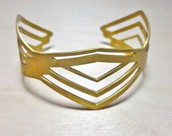 Arrow Bracelet, Stackable Bracelet Bangle, Stackable Bracelets Boho, Stackable Bracelets for Women, Stackable Cuff, Chevron Bracelet