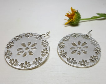 Romantic Earrings, Gift Ideas for Her, Jewelry Gifts for Women, Floral Earrings, Romantic Jewelry, Flower Earrings Dangle, Gifts for Women