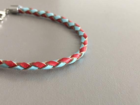 Gift For Kids Boys Leather Bracelet