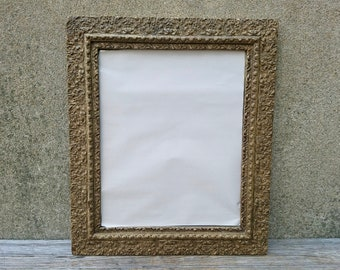 mercury glass mirror. antique french wood guilt frame foxing mercury glass mirror