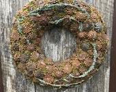 Advent Wreath - Holiday Wreath - Winter Wreath - Christmas Wreath - Home Decoration
