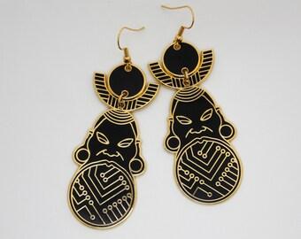 Bankole Earrings - African Inspired - Statement Earrings