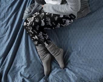 Animal Skeleton Leggings | Women's Yoga Pants | X-ray Pants | Halloween Leggings | Vet Tech Gift | Animal Lover Gift | Women's Yoga Leggings