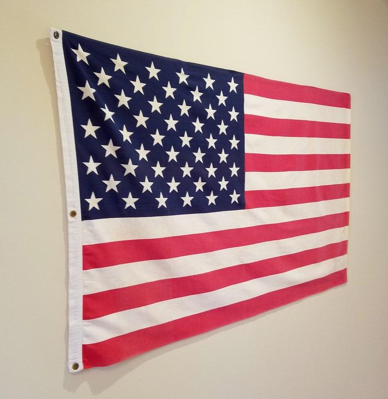 f58eec3b87aa Rustic American Flag Stars and Stripes Americana Decor