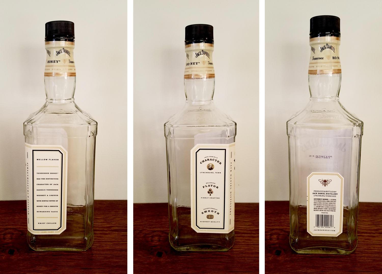 Tennesee Honey Jack Daniels Empty Bottle 1.75 Liters - Large Jack ...