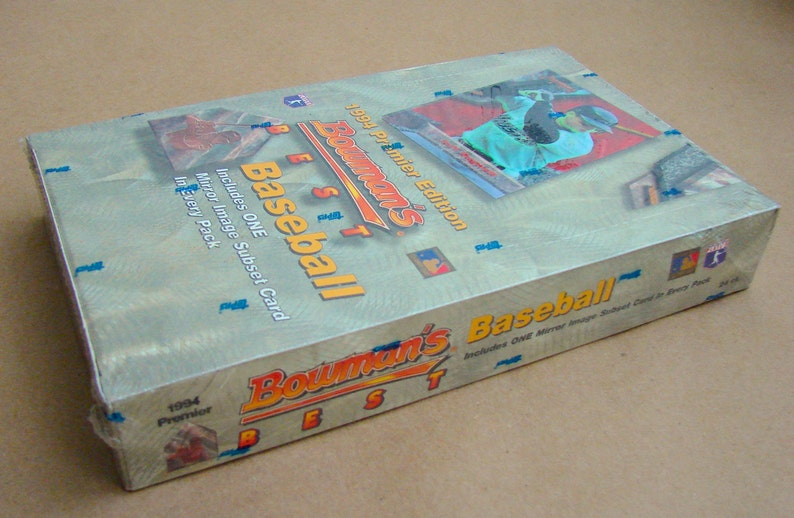 Vintage 1994 Bowmans Best Baseball Cards Factory Sealed 24 Pack Hobby Box 4 Cards Per Pack