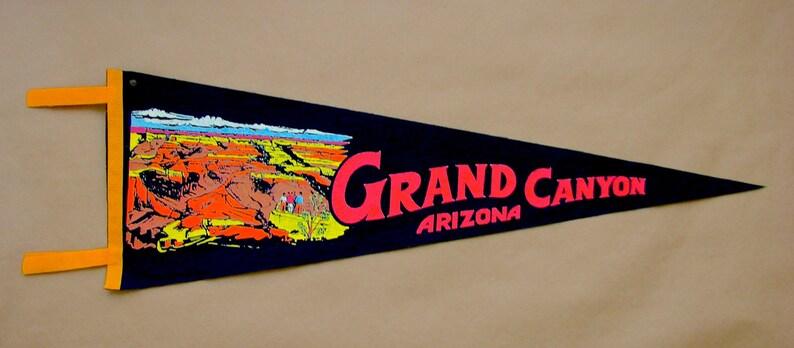 Grand Canyon Vintage Pennant Arizona