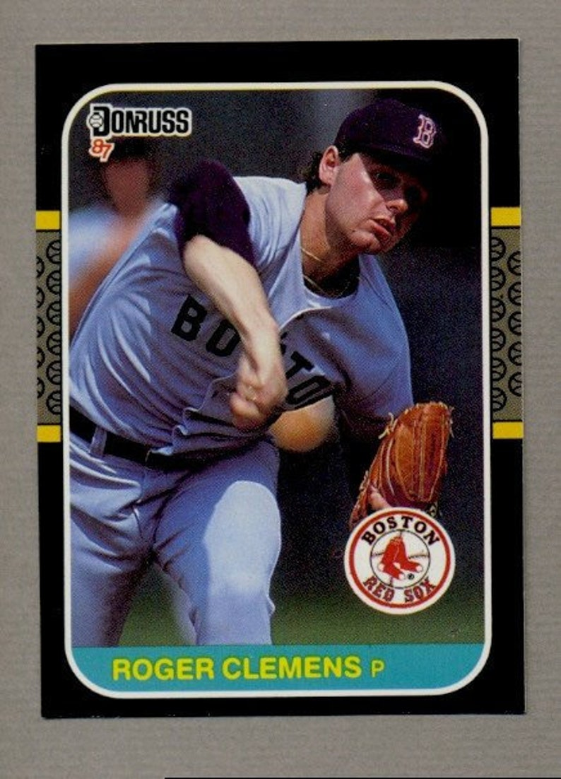 Vintage Roger Clemens Baseball 5 Card Lot 1987 1988 1989 1990 1991 Cy Young Strikeout Legend