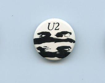 "U2 - Pinback Button - Vintage - North American Cover for ""BOY"" Album - 1980"