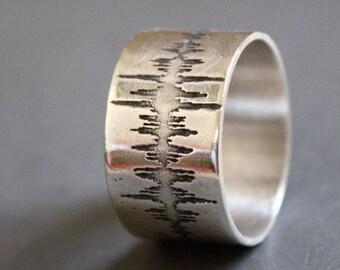 I love you soundwave ring