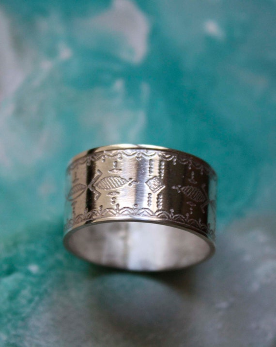 Statement ring Tribal ring Ethnic silver ring Ethnic jewelry Antique silver Tuareg ring Tribal jewelry Silver African ring Mens ring