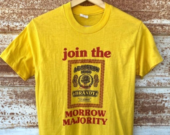 Vintage 1970's A.R Morrow Brandy T-shirts, California