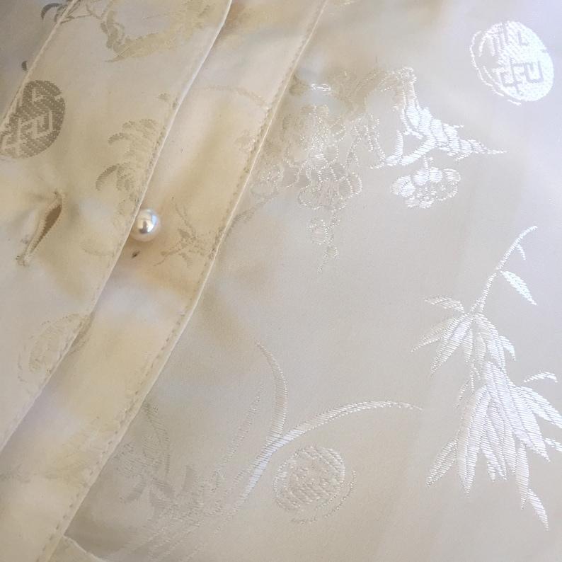 Vintage Silk Chinese shirts,Ethnic,Tunic,Silk100