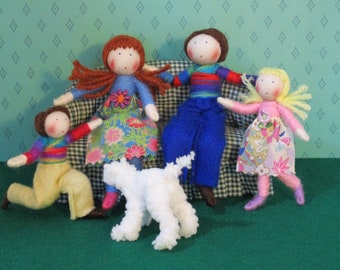 My Family Dolls' House Doll Set- customisable