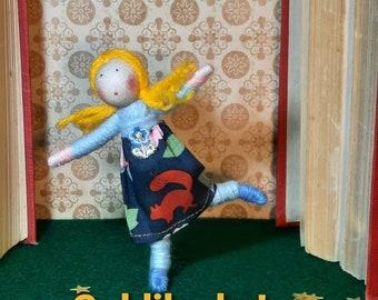 Goldilocks storybook doll