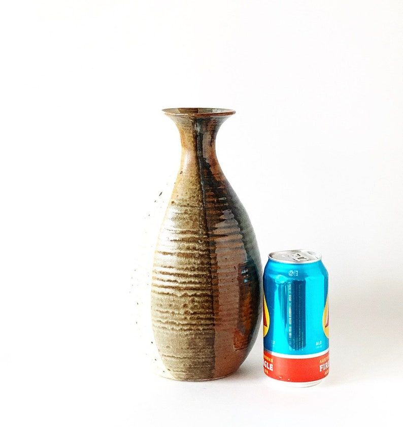 Vintage Studio Pottery Vase Boho Style