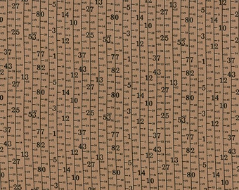 Material Girl Modern Vibes Measuring Tape design by Nina Djuric by Northcott Fabrics 44 in wide 100/% Quilting Cotton Fabric NC-23222-68