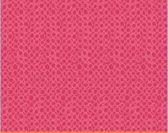 Sunnyside Tiny Bubbles in Hot Pink #40665 by Sara Franklin for Windham Fabrics by the Yard