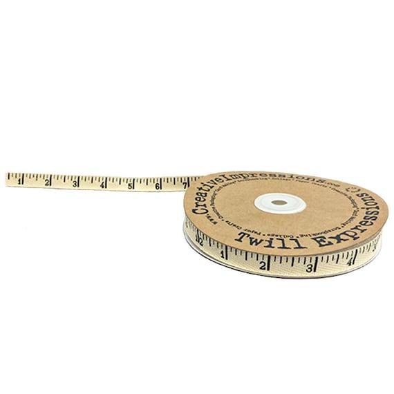 Creative Impressions Printed Twill Antique Ruler 25-Yard