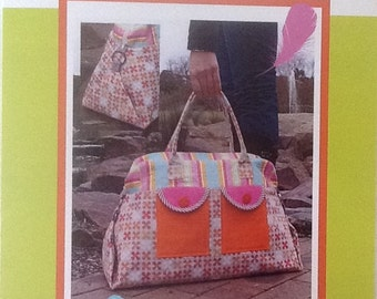 The Sleep Over Bag Pattern by Melly and Me