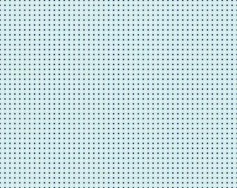 """Riley Blake """"Enchant"""" by Natalie Lymer Dots on Aqua 1 Yard Cut"""