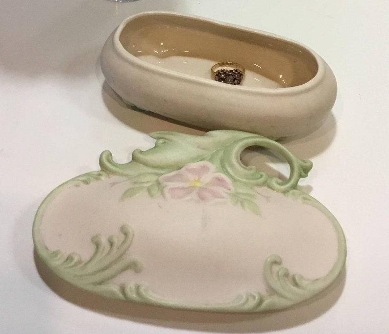 Vintage Trinket Box Mallory Ceramic Studio Jamar Jewelry 1957 Box
