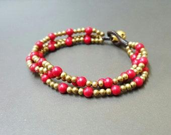 Chain Coral  Bracelet