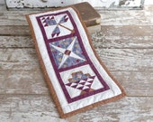 Quilted Wall Hanging, Country Home Decor, Quilt Square Wall Hanging