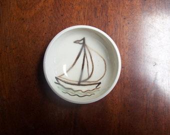 SAIL BOAT little bowl