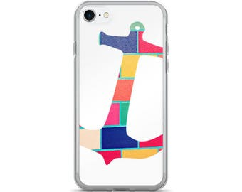 Anchor iPhone Case - dye sublimation cute slim fit iphone 5 apple iphone 7 plus naval theme girly minimalist design phone cases hard plastic