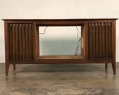 Mid-Century Modern Sterep Console Media Center Possilbe Bar Project