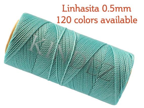 Waxed Macrame Cord Jewellery Thread 100 meter each 20 meter 1 mm, Macrame Supplies