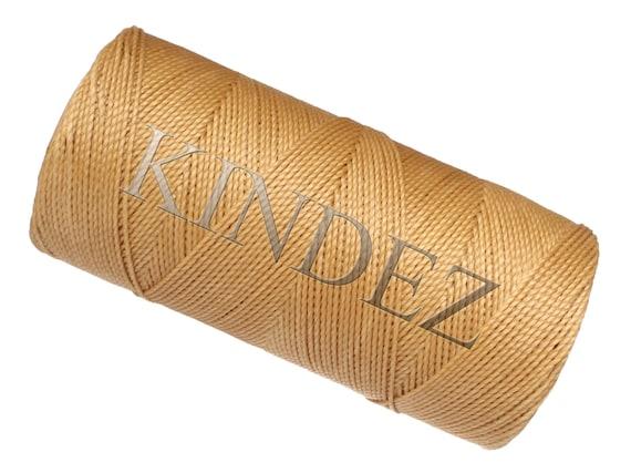 Dark Grey Beige Knotting Bracelet Cord 15 meters16 yards Macrame Cord Waxed Polyester Beaded Jewelry