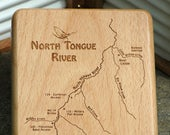 NORTH TONGUE RIVER Map Fl...