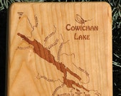 COWICHAN LAKE River Map F...