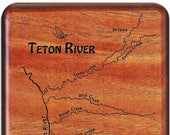 TETON RIVER Map Fly Box -...