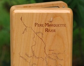 PERE MARQUETTE River Map ...