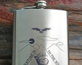 WHISKEY FLASK -Personaliz...