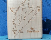 YUBA RIVER Map Fly Box -H...