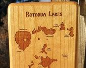 ROTORUA LAKES River Map F...
