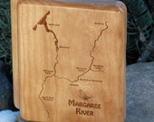MARGAREE RIVER Map Fly Bo...